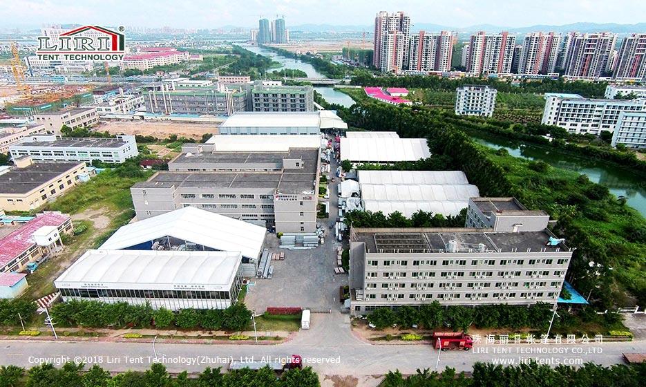 丽日工厂航拍图