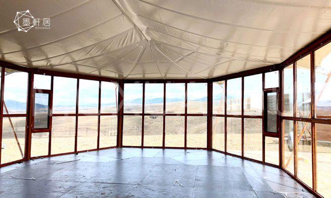 Glamping in a Safari Tent