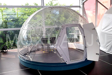 Glass Geodesic Dome Glamping tent