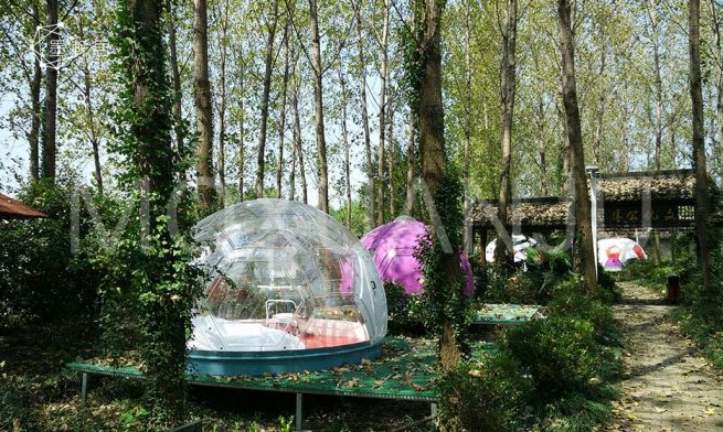 Glass Geodesic Dome Hotel for sale