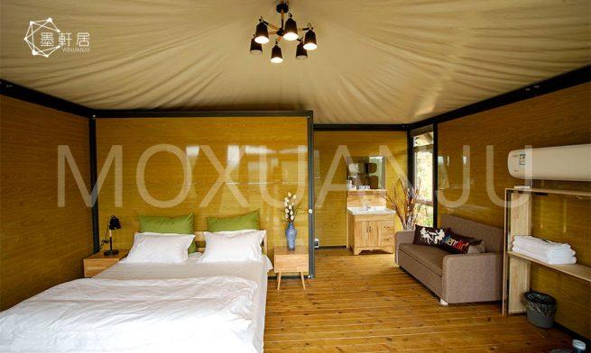 Luxury Safari Tents indoor