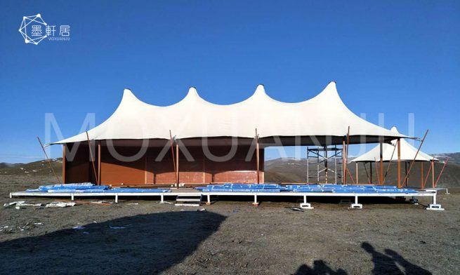 Safari Tent in African Style