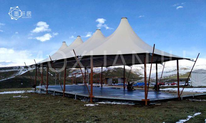 Two peak Safari Tents