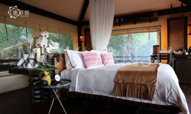 indoor Double Peak Safari Tent