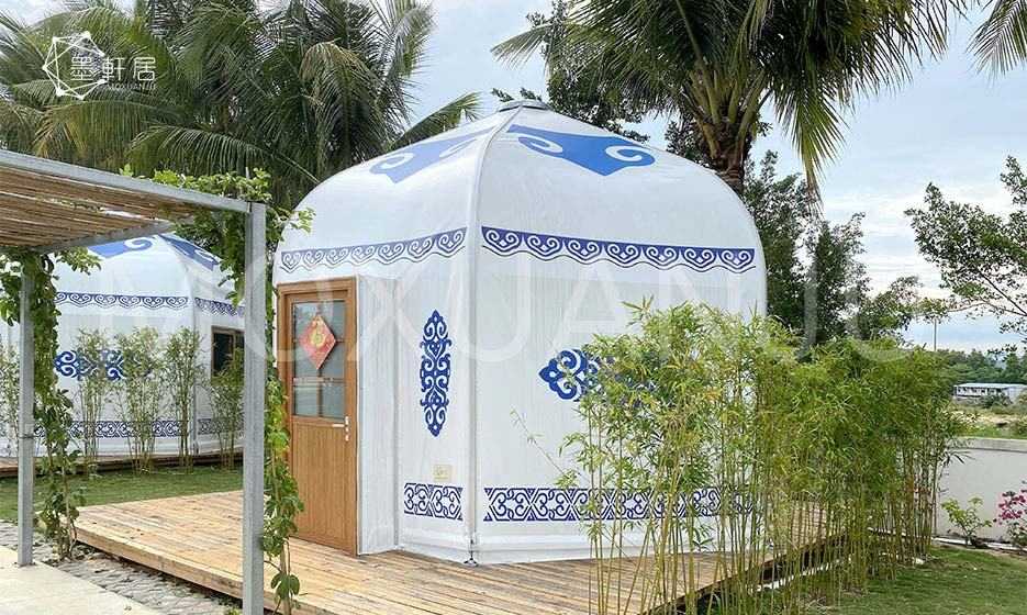 Yurt Glamping Tent Aluminum Luxury Yurt Moxuanju Glamping Tent You'll receive email and feed alerts when new items arrive. yurt glamping tent aluminum luxury