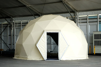 Geodesic Dome Hotel