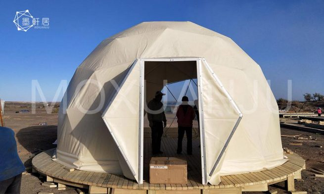 Starry Geodesic Dome Tent for sale