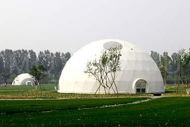 Campsite Dome Room in Forest Resort 1