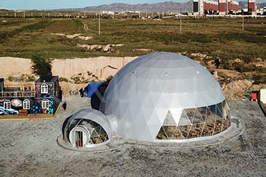 Dome Luxury Camping 1