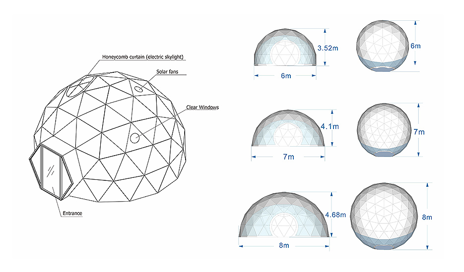 Geodesic Dome Glamping 2
