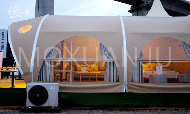Eco Pod Glamping tent 1