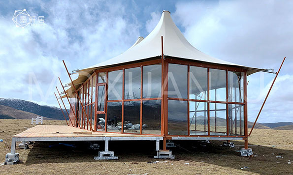 Glamping Hotel tent