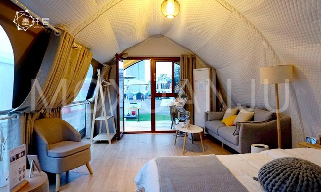 Shell Glamping Tents