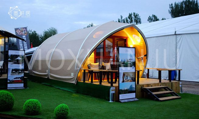 gamping pods tent