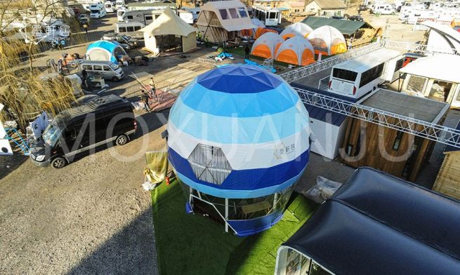 two story Dome tent