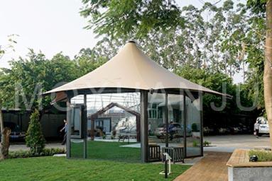 Hexagonal Glamping Safari Tent 8