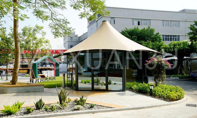 Luxury Hexagonal Glamping Safari Tent 2