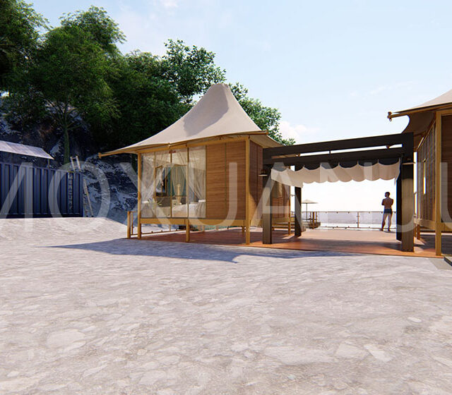 Luxury Safari Tents for Sale - MoxuanJu Glamping Hotel