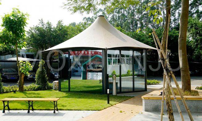 Outdoor Waterproof Luxury glamping tent 1