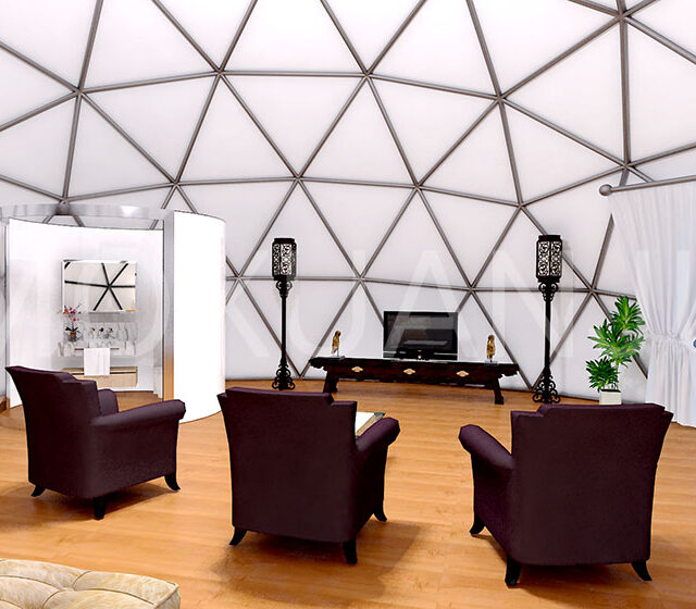 Stars Dome Glamping Tent interspace