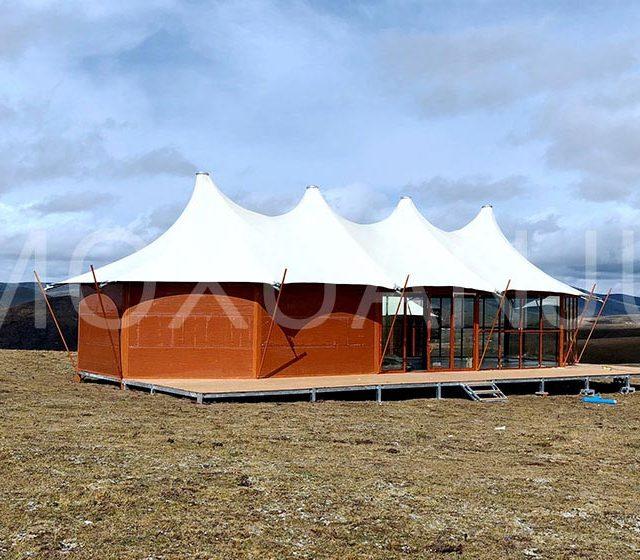 luxury Double Peak Safari Tent