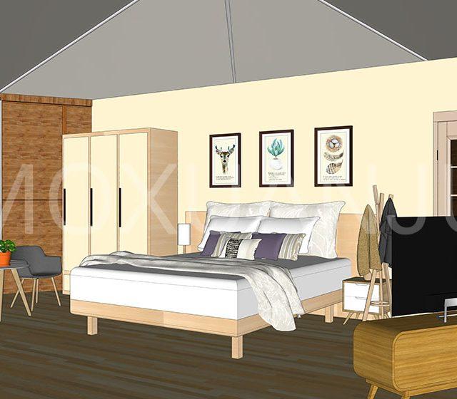 luxury Hexagonal Glamping Safari Tent