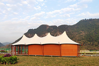 luxury Multi-peak Luxury Safari Tent