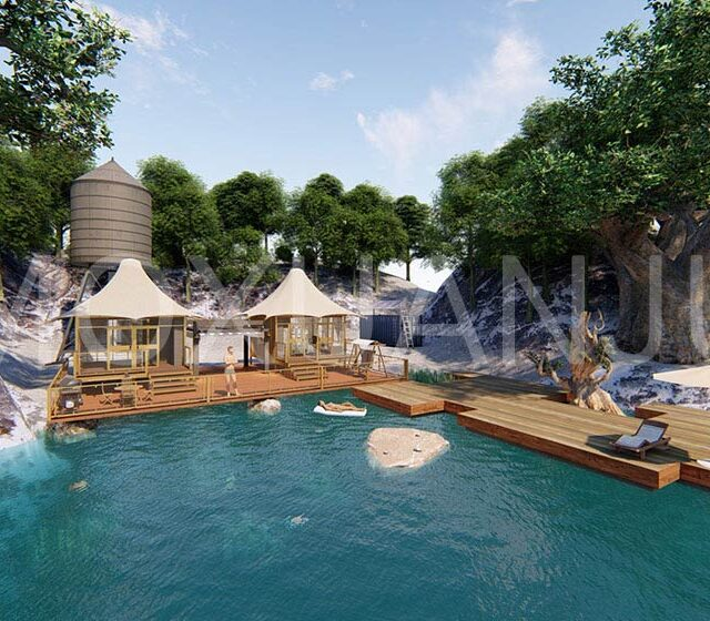 outdoors Luxury Safari Tent 1