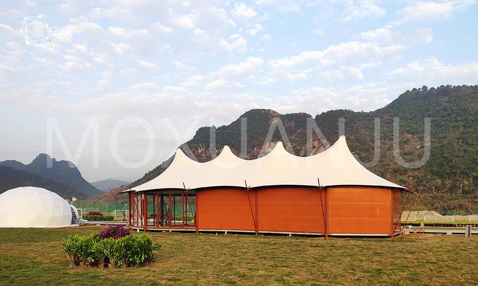 Double Peak Safari Tents