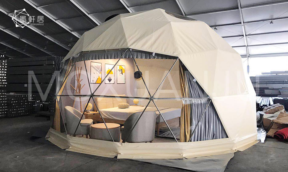 Geodesic Dome Glamping Tent
