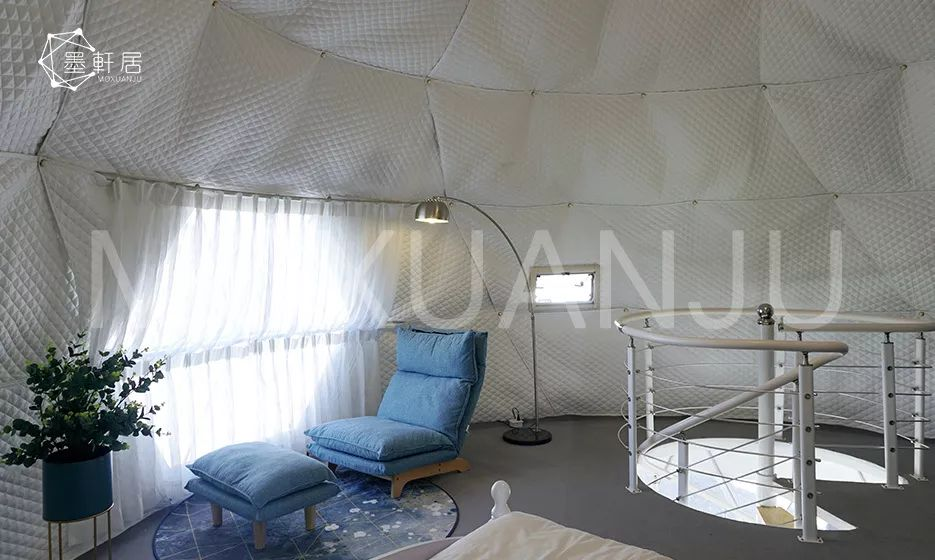 Hot balloon glamping tent for sale