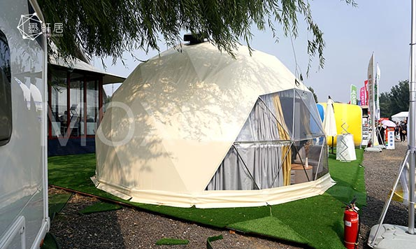 How to Do the Heat Insulation for Glamping Tents