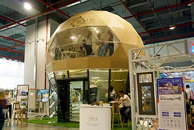 Two Story Glamping Dome
