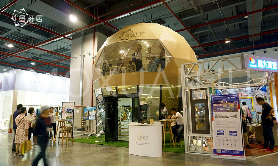Two Story Glamping Dome appearance