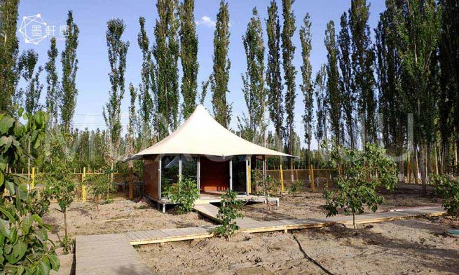 High Peak Glamping Tent for sale