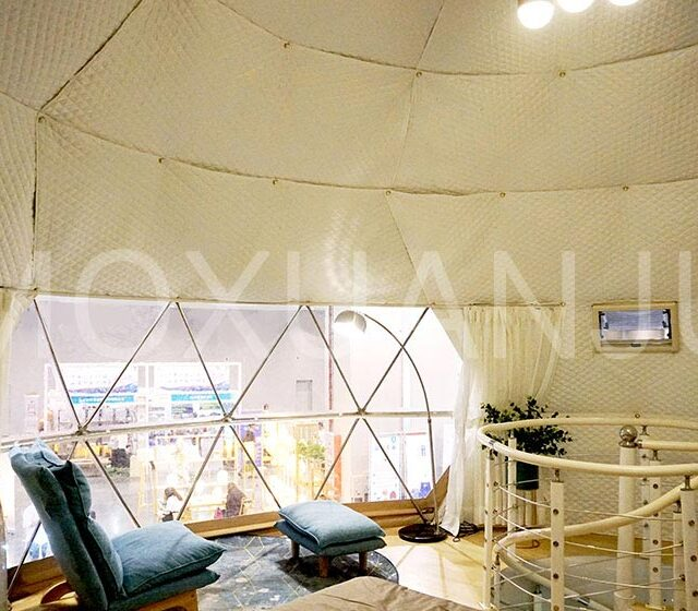 Transparency Hot Balloon Glamping Tent 1