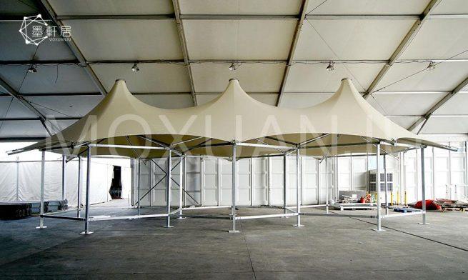 multi peak glamping safari tent 1
