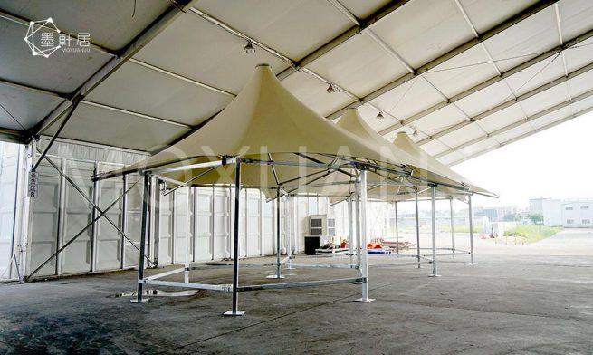 outdoors multi peak glamping safari tent