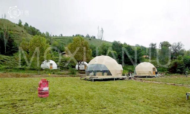 Glamping Dome Resort for sale