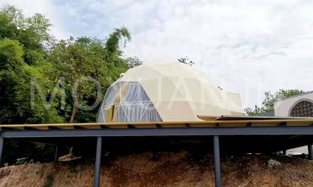 Glamping Dome With Bathroom