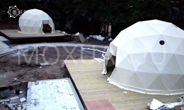 Glamping Dome appearance