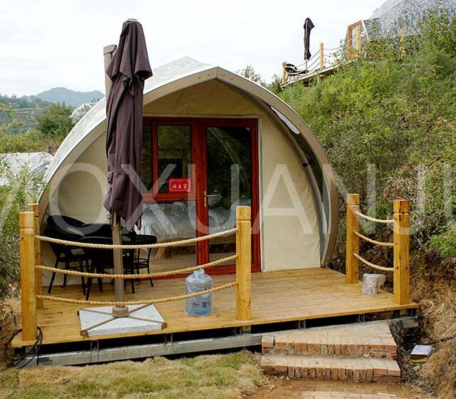 Shell Shape Glamping Tent