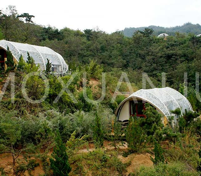 Shell Shape Glamping Tent for Sale
