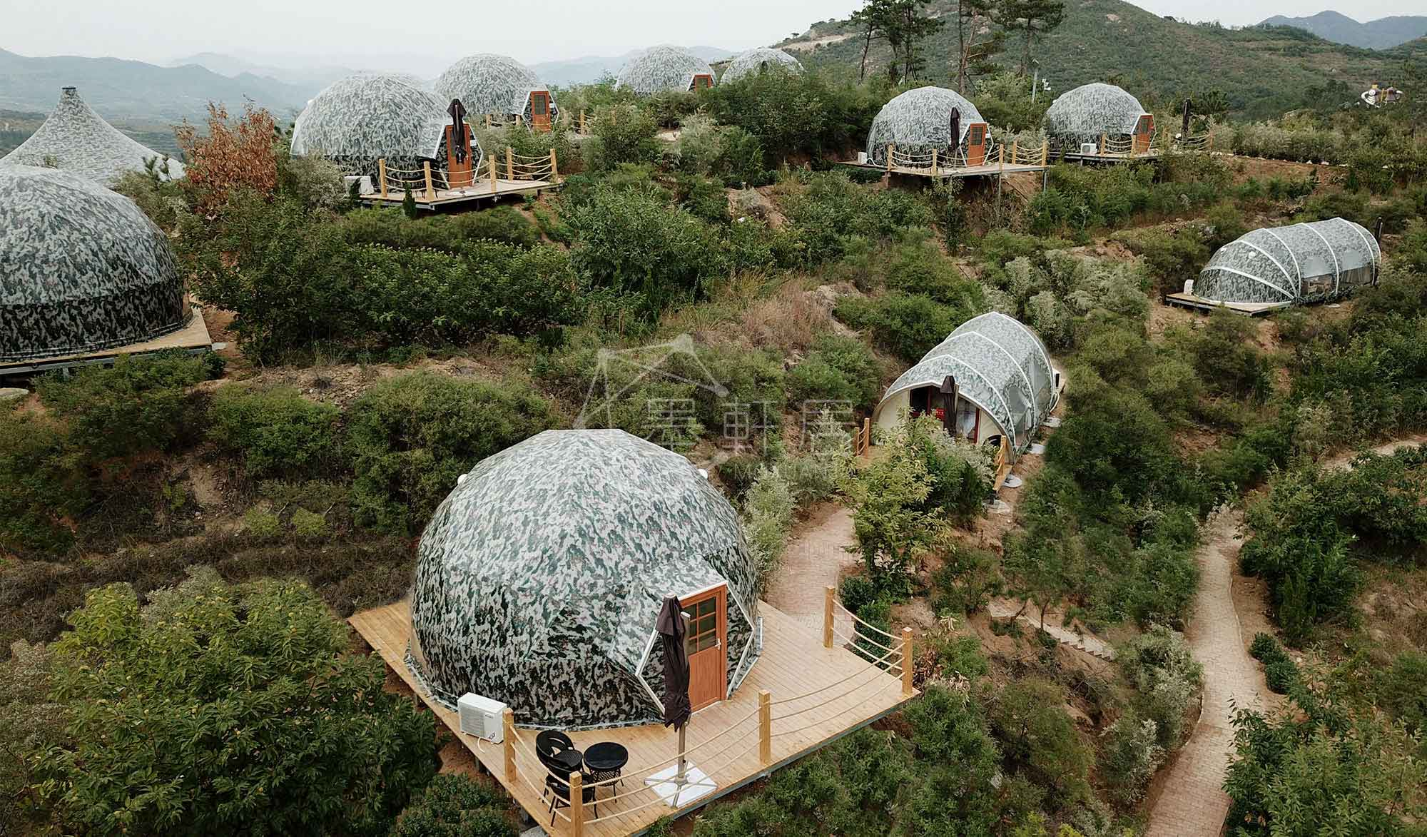 Geodesic Dome Tent Glamping
