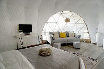 Oval Dome Glamping Tent
