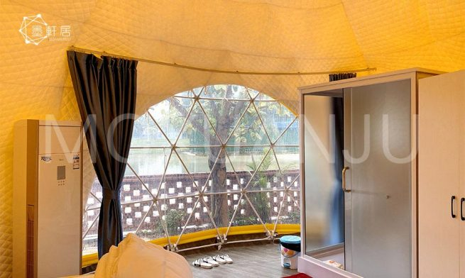 Oval Dome Glamping Tent for Sale