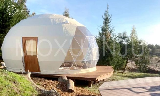 Pearl Oval Dome Glamping