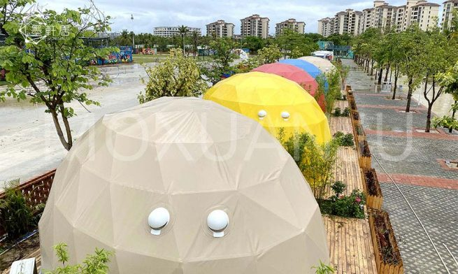 amusing Oval Dome Glamping Tent 1