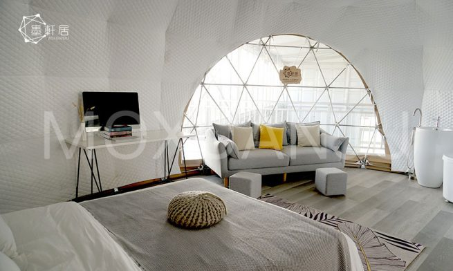 oval dome tent