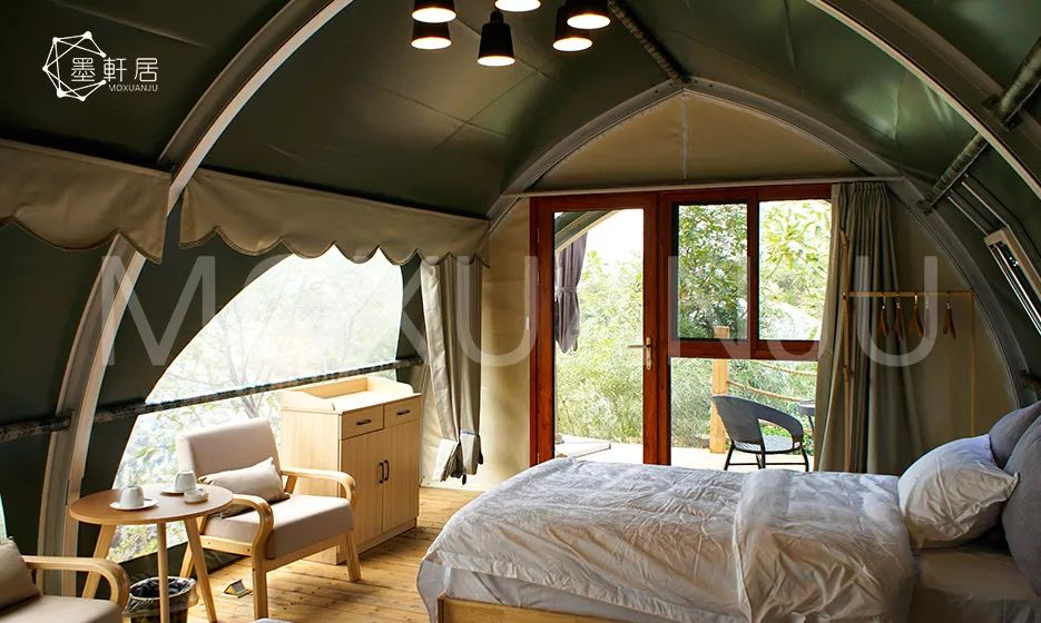 Shell Shape Glamping Tents